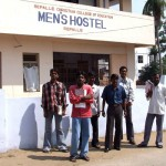 College students men's hostel