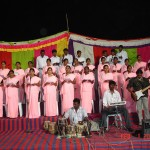 College choir and praise band